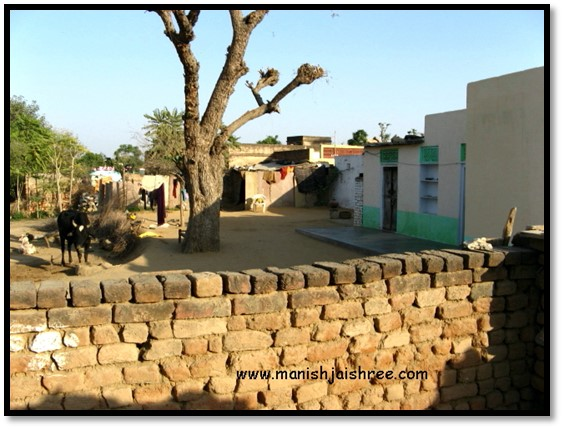 Village house in Nawalgarh