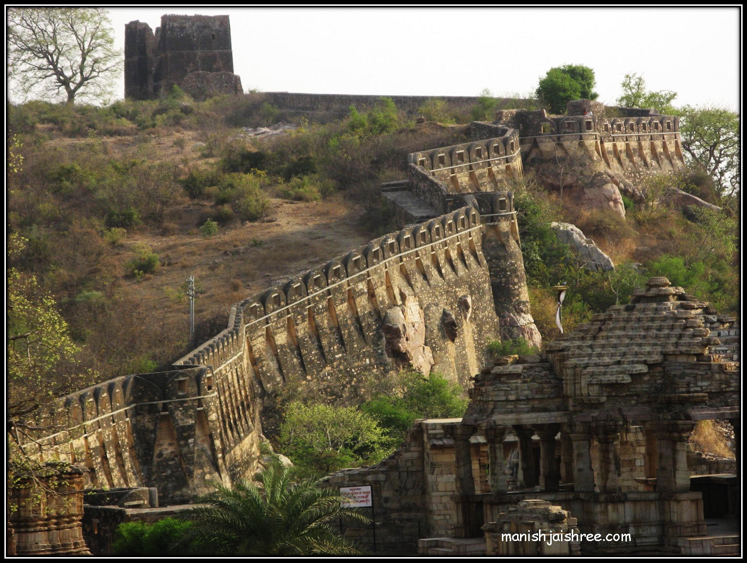 The Chittorgarh Fort