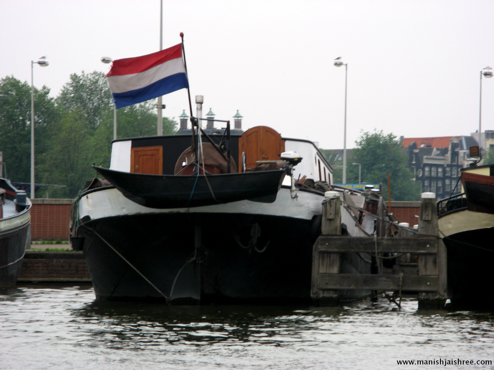 The Dutch tricolor
