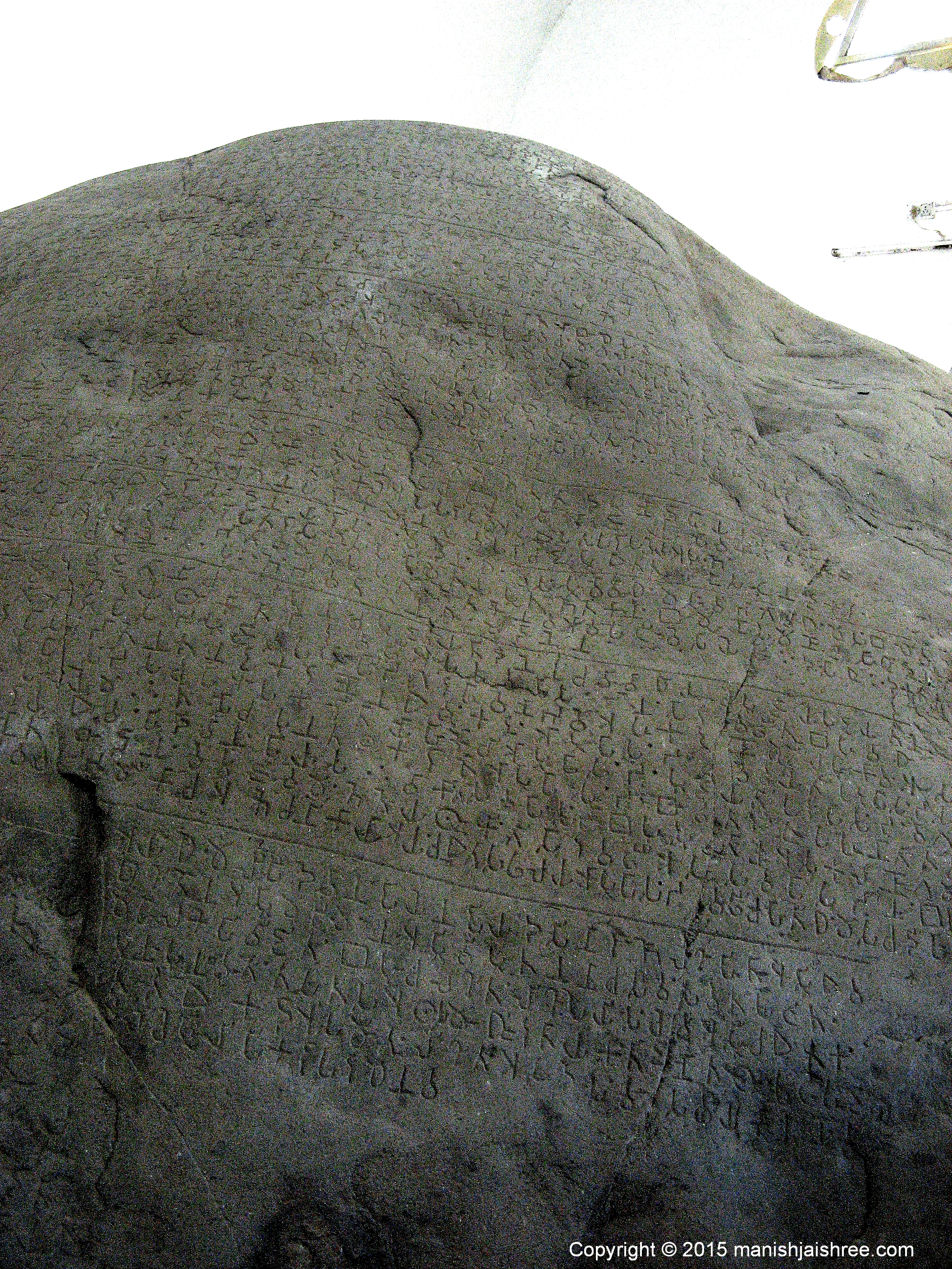 The Girnar Rock-Book, Junagarh