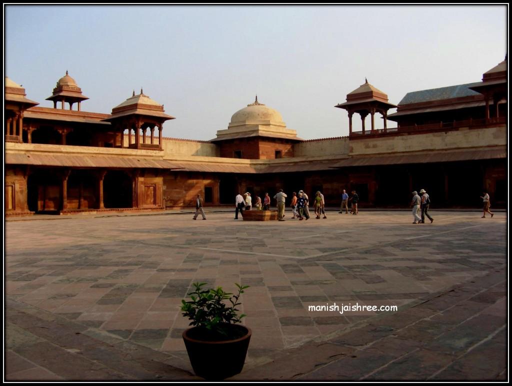 View of Jodha Bai's Palace