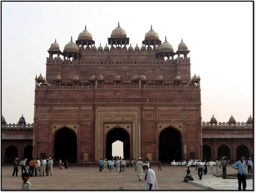 """Buland Darwaja""- viewed from Sheikh Salim Chisti's Tomb"