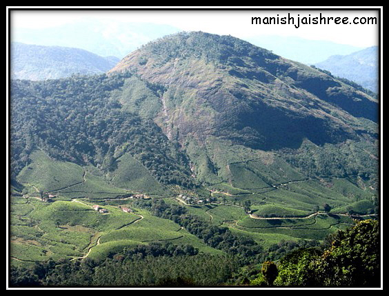 Freshly water colored landscape of Munnar – God's own art