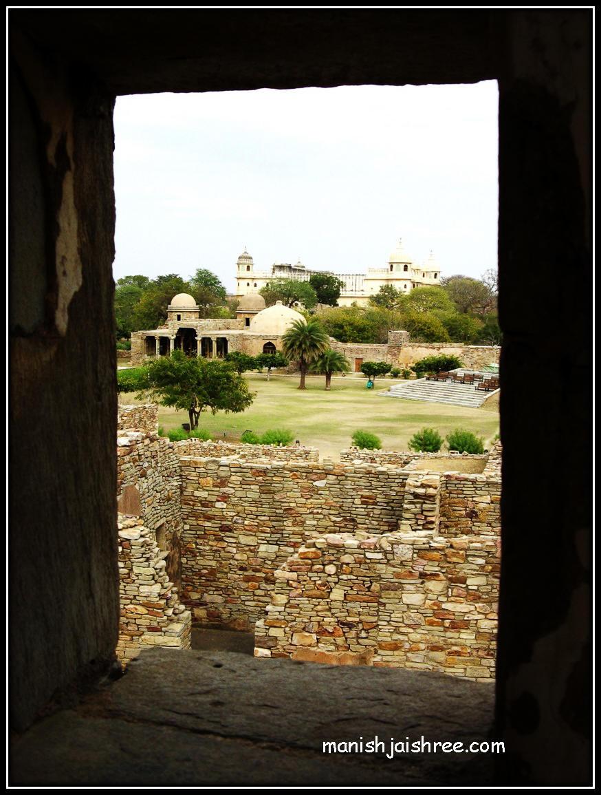 Fateh Memorial viewed from Kumbha Mahal