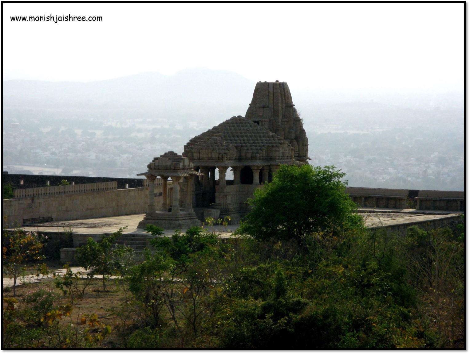 The Shiva Temple, Chittorgarh fort