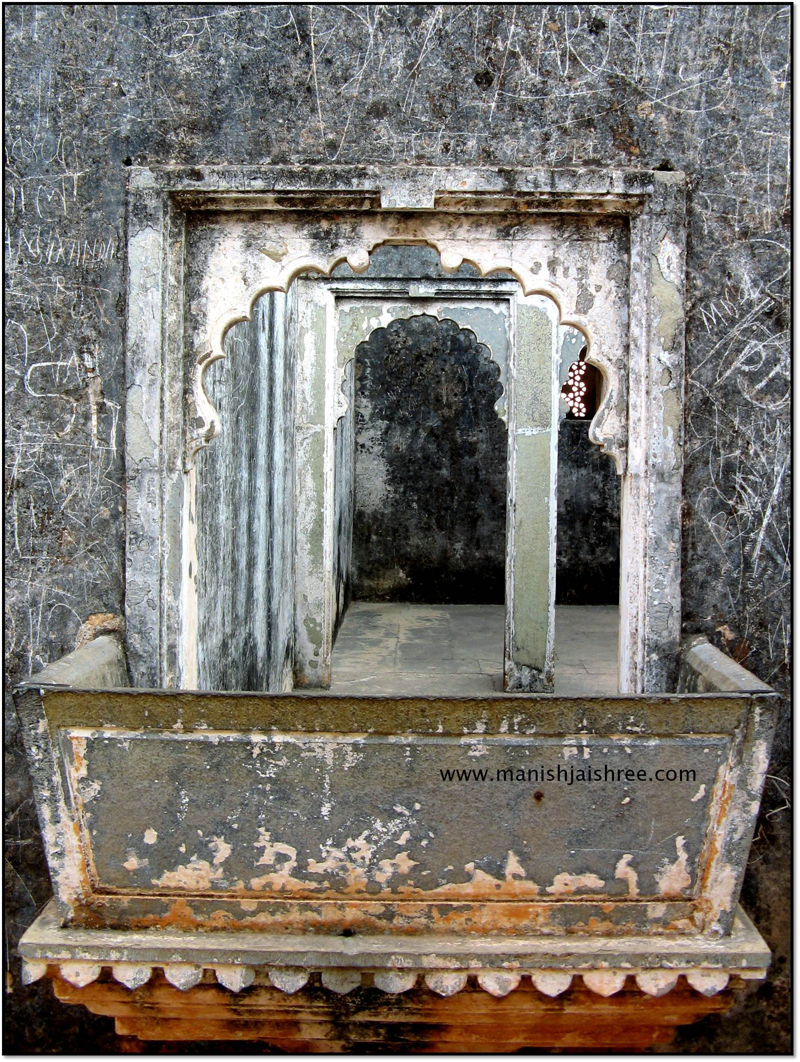 Inside Raja Ratansen Palace