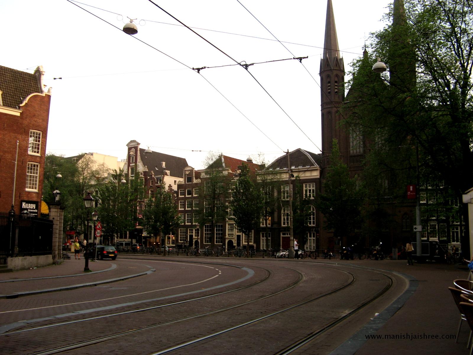 A city road