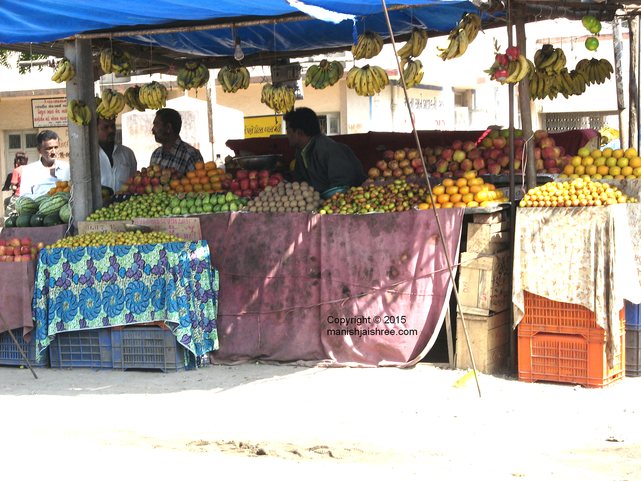 Fruits! So many varieties, Sasan Gir to Junagarh