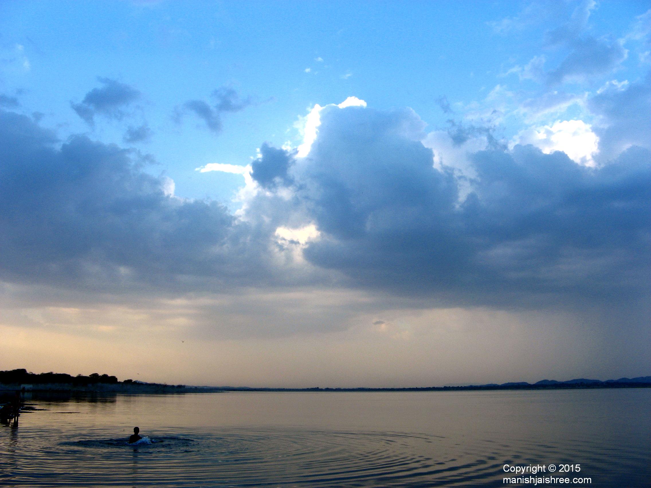 The Rajasamand Lake