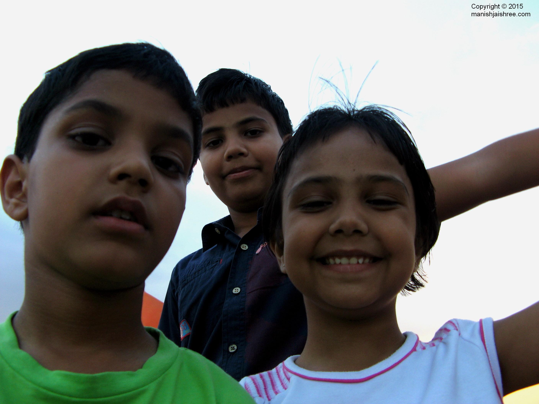 Trio at Rajasamand Lake