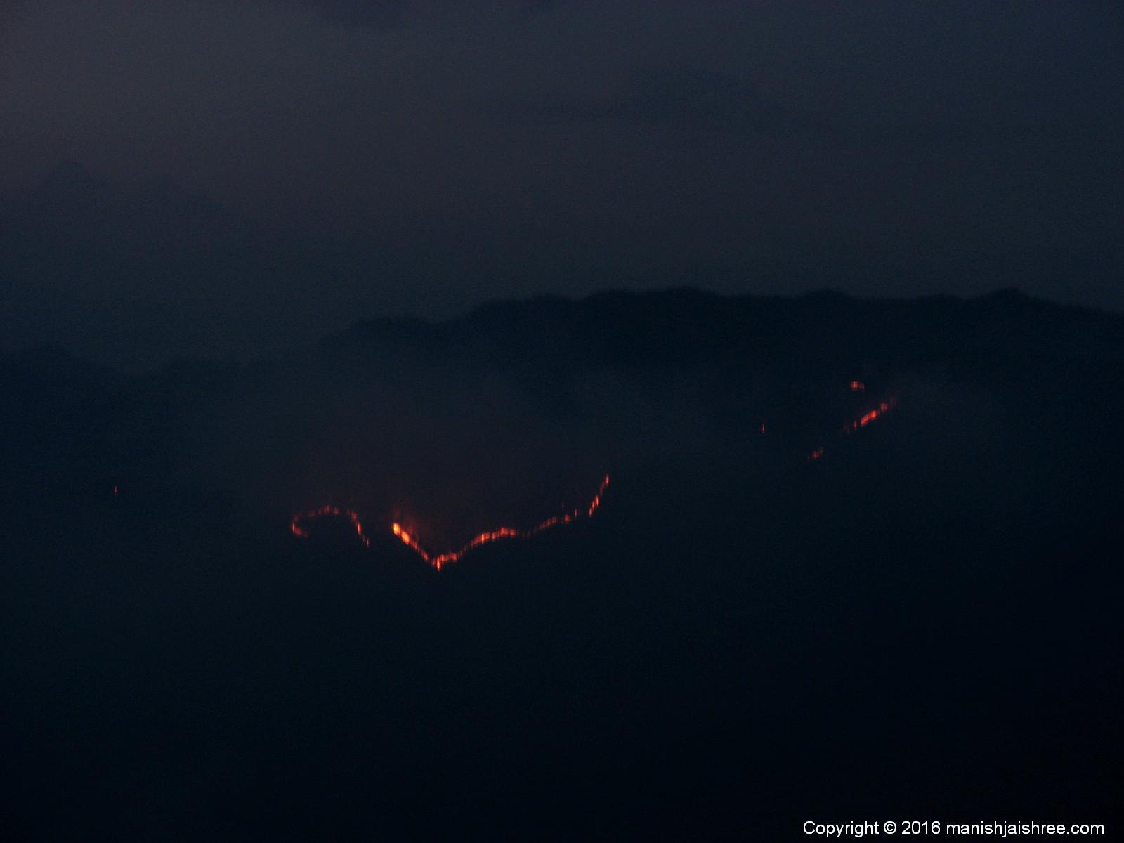 Burning Binsar